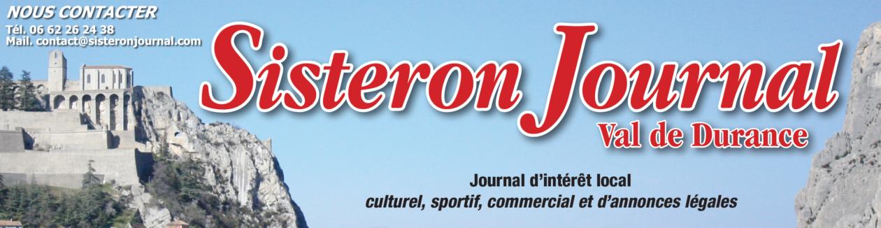 SISTERON JOURNAL VAL DE DURANCE